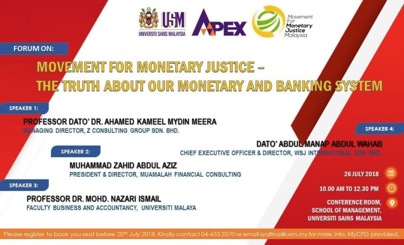 MOVEMENT FOR MONETARY JUSTICE- THE TRUTH ABOUT TNE MONETARY AND BANKING SYSTEM